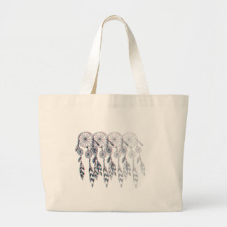 Dreamcatcher Fade Large Tote Bag
