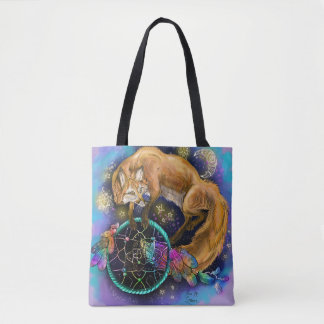 DreamCatcher Fox Tote Bag