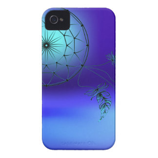 Dreamcatcher in the background of the moon iPhone 4 case