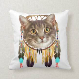 Dreamcatcher kitty cushion