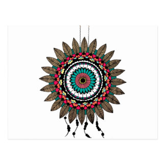 Dreamcatcher Mandala Postcard