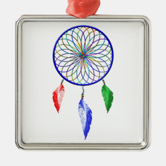 dreamCatcher Metal Ornament