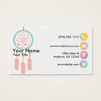 Dreamcatcher Pastel Business Card
