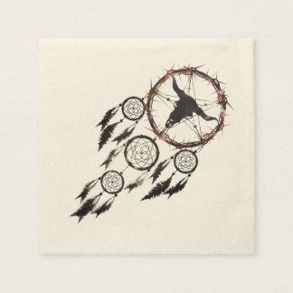Dreamcatcher - Pentagram Paper Napkins