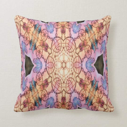 Dreamcatcher_purple Cushion