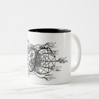 Dreamcatcher Two-Tone Coffee Mug