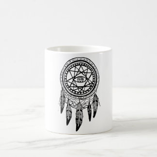 Dreamcatcher Vision Quest Mandala Coffee Mugs