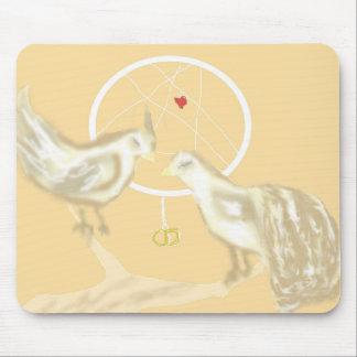 Dreamcatcher w/ Love Birds Mousepad