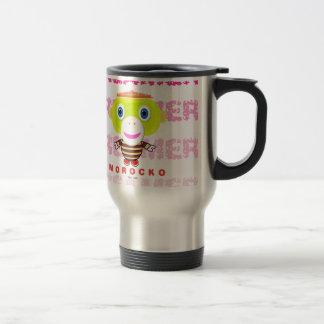 Dreamer-Cute Monkey-Morocko Travel Mug