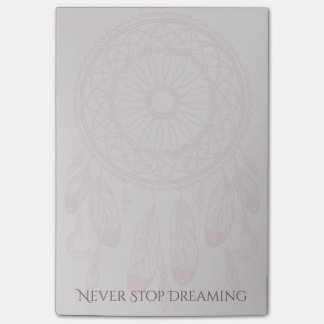 Dreamer Dreamcatcher 4x6 Post-it Notes