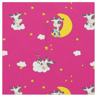 Dreaming Cow Fabric
