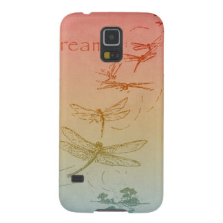 Dreaming Dragonflies Galaxy S5 Cases