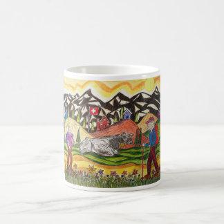 Dreaming Hike Swiss Classic White Coffee Mug