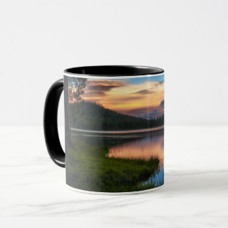 Dreaming Juanita Lake sunset mugs California