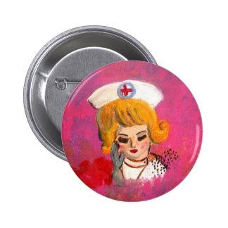 Dreaming Nurse 6 Cm Round Badge