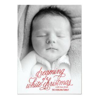 Dreaming of Christmas Photo Card 13 Cm X 18 Cm Invitation Card