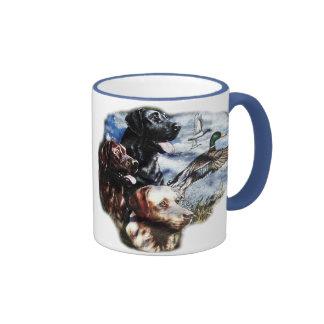 Dreaming of Duck Hunting Ringer Mug