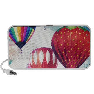 Dreaming of Hot Air Balloons Portable Speakers