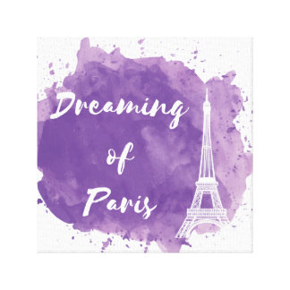 Dreaming of Paris - Canvas Wall Art