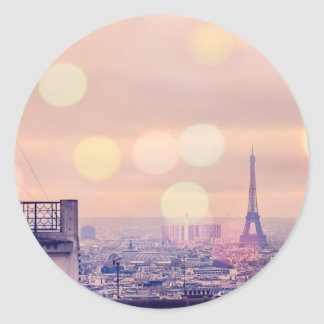 Dreaming of Paris Eiffel Tower Sticker