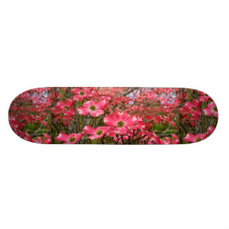 Dreaming of Pink Dogwood Blooms in Spring! Skateboard Deck