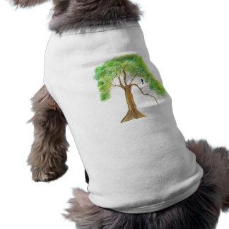 Dreaming Of Spring From Original Artwork Sleeveless Dog Shirt