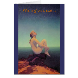 """""""...dreaming of you"""" Maxfield Parrish card"""