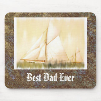 Dreaming Sails Father's Day custom mousepad