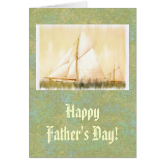 Dreaming Sails Father's Day Greeting Card