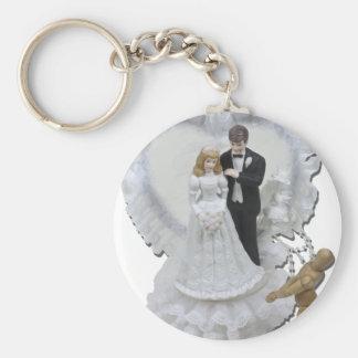 DreamingMarriage012511 Basic Round Button Key Ring