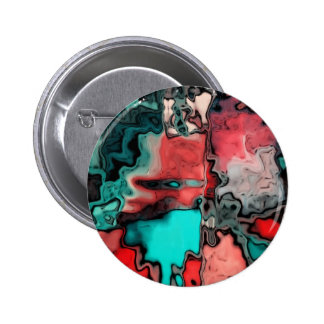 dreamlike fluids red pinback button