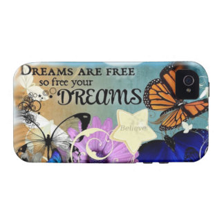 Dreams Vibe iPhone 4 Covers