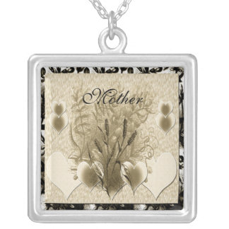 Dreams Come From The Heart Silver Plated Necklace