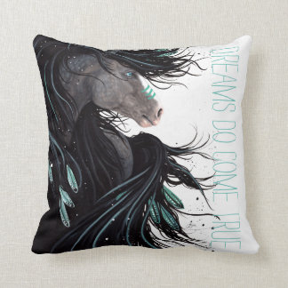 Dreams Come True Horse Pillow by Bihrle