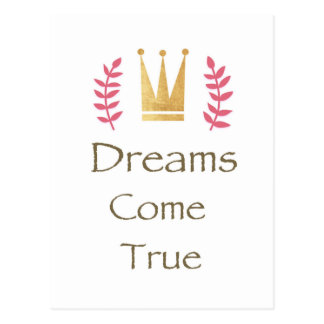 Dreams Come True Postcard