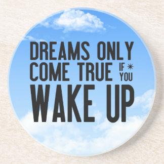 Dreams Come True Sandstone Coaster
