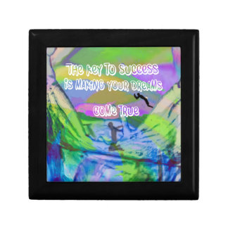 Dreams come true small square gift box