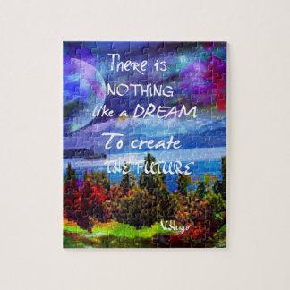 Dreams create the future jigsaw puzzle