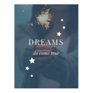 Dreams Do Come True Postcard