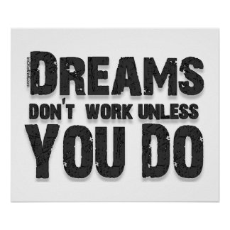 Dreams Don't Work Poster
