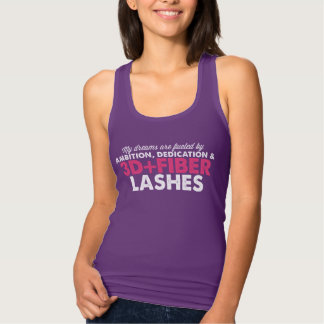 Dreams Fueled by 3D Fiber Lashes Singlet