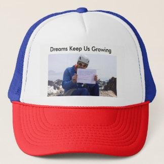 Dreams Keep us Growing Hat
