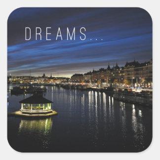 Dreams - Motivational Sticker - Traveling