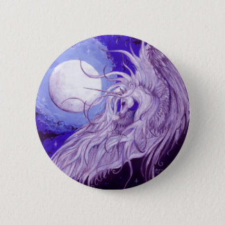 Dreams of Life and Song Unicorn Button