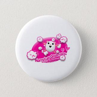 Dreams of popcorns 6 cm round badge