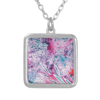 Dreams of Spring Silver Plated Necklace