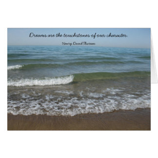Dreams Thoreau Graduation Card