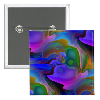 Dreamscape 15 Cm Square Badge