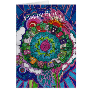Dreamscape 4 Birthday Card