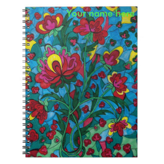 Dreamscape 7 Flower in Vase Notebook